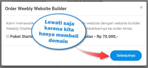 Cara Beli Domain .COM di Niagahoster