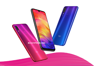 redmi note 7 three phones