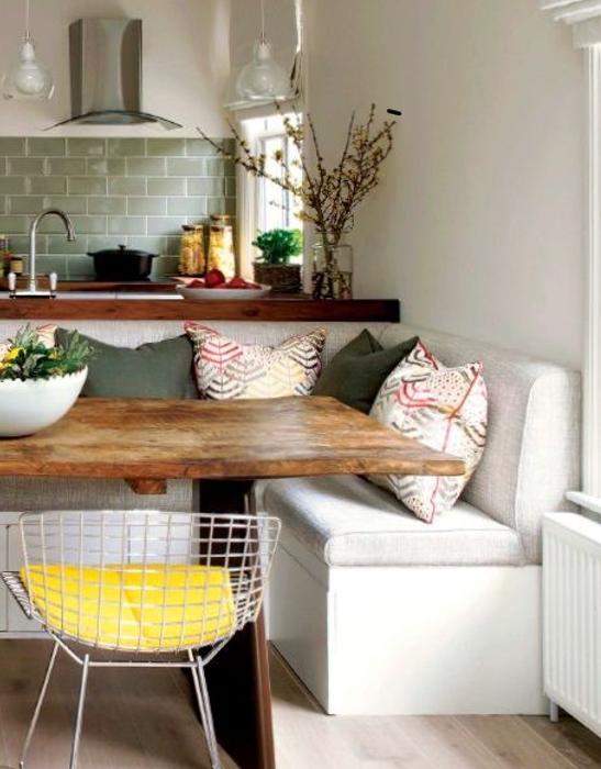 Panca moderna con contenitore da cucina ~ design semplice ...
