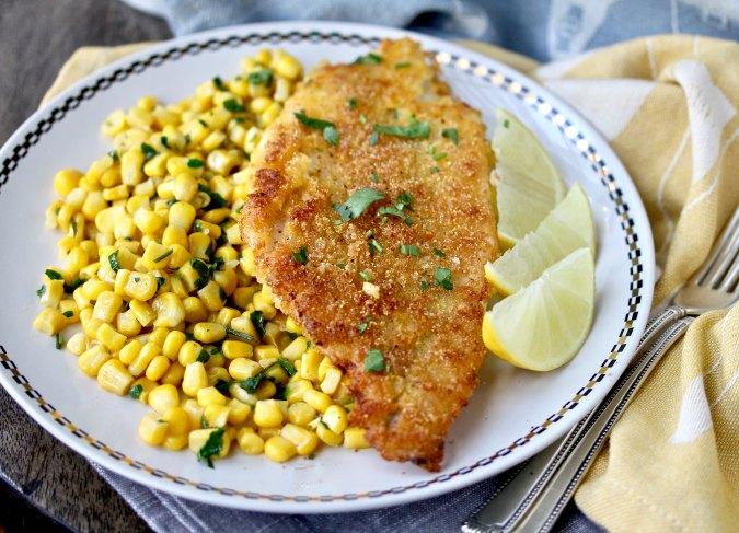 Rice Crusted Catfish #catfish