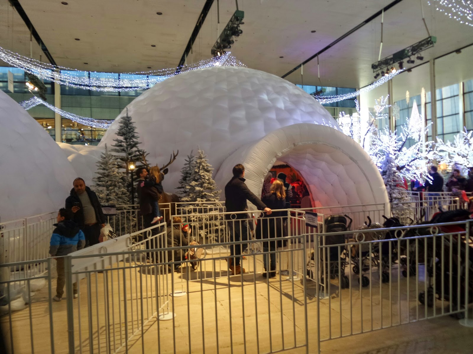 The Igloo at Milton Keynes, where you get to see Santa