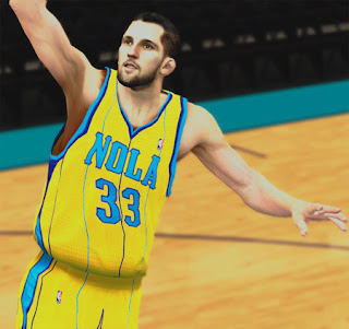 NBA 2K13 Ryan Anderson Cyberface Texture Patch
