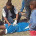 This Photo Of A Female Paramedic Attending To A Male Footballer Has Gone Viral