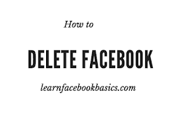How to Delete Account On Facebook Permanently Right Now #DeleteFacebook