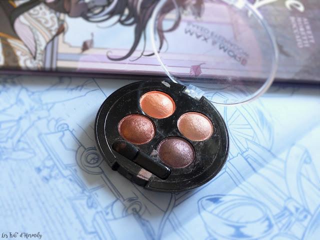 Max and More maquillage palettes et fards à paupières