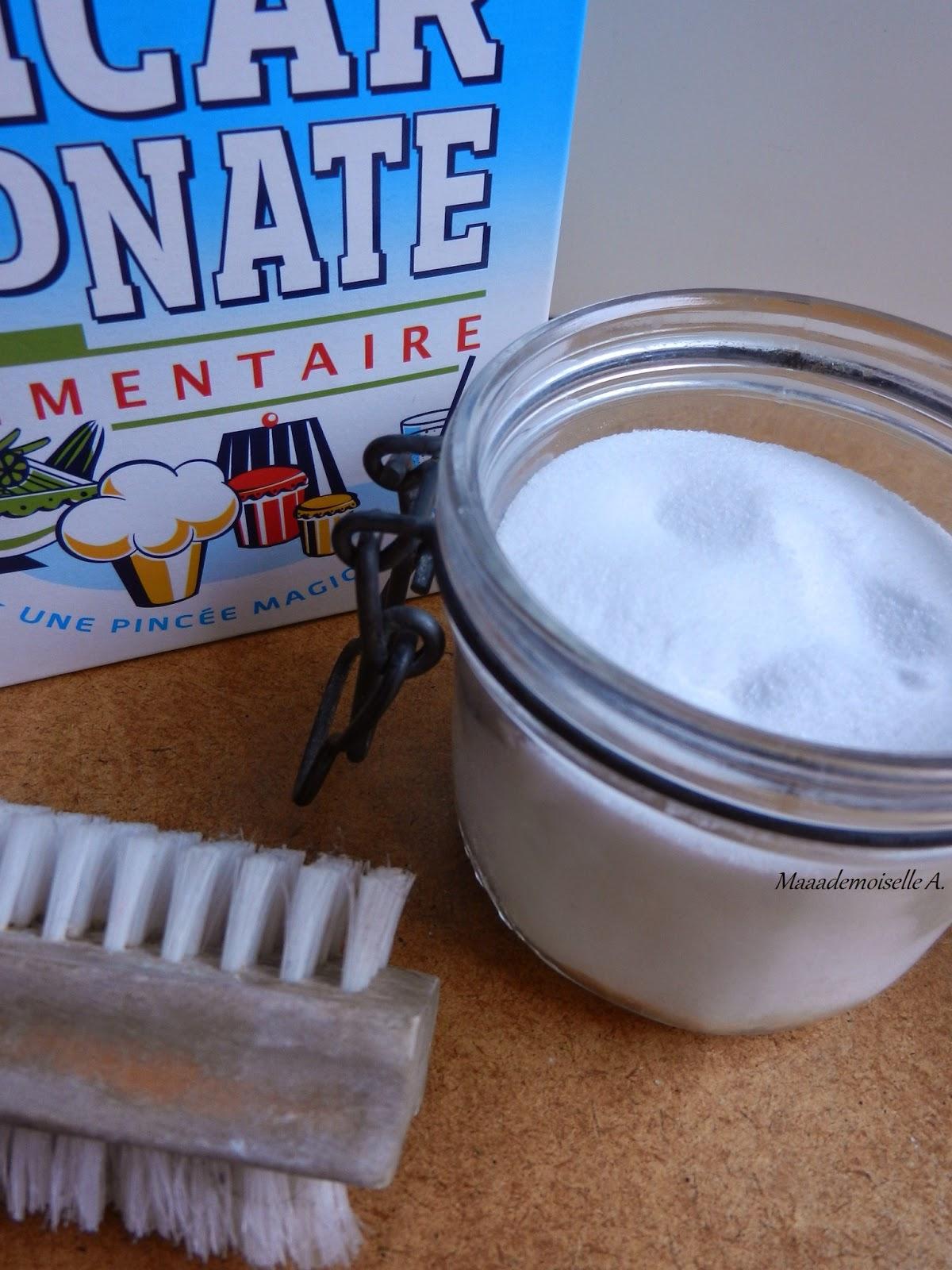 Le bicarbonate de soude, mon détachant complémentaire au savon de Marseille !
