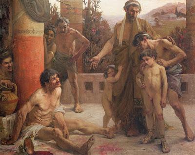 www.fertilmente.com.br - Tido como sinal de fraqueza, o alcoolismo era totalmente repudiado pelos Espartanos