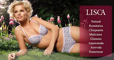 Oferta de lencería de la marca Lisca