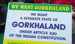 We want Gorkhaland Poster