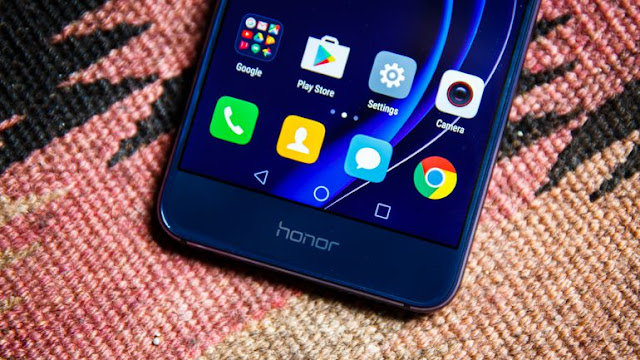 android 7.0 nougat update on Huawei  Honor 8