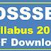 DSSSB Syllabus PDF 2017 Grade 2 Syllabus PDF Downlaod