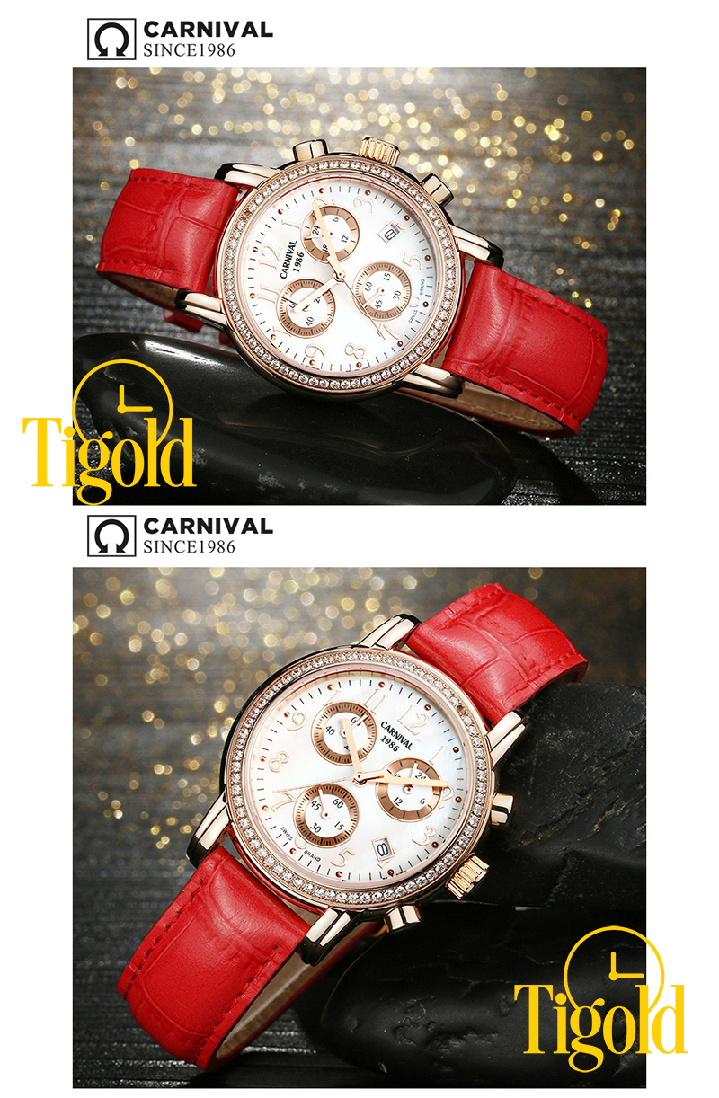 bán đồng hồ nữ carnival