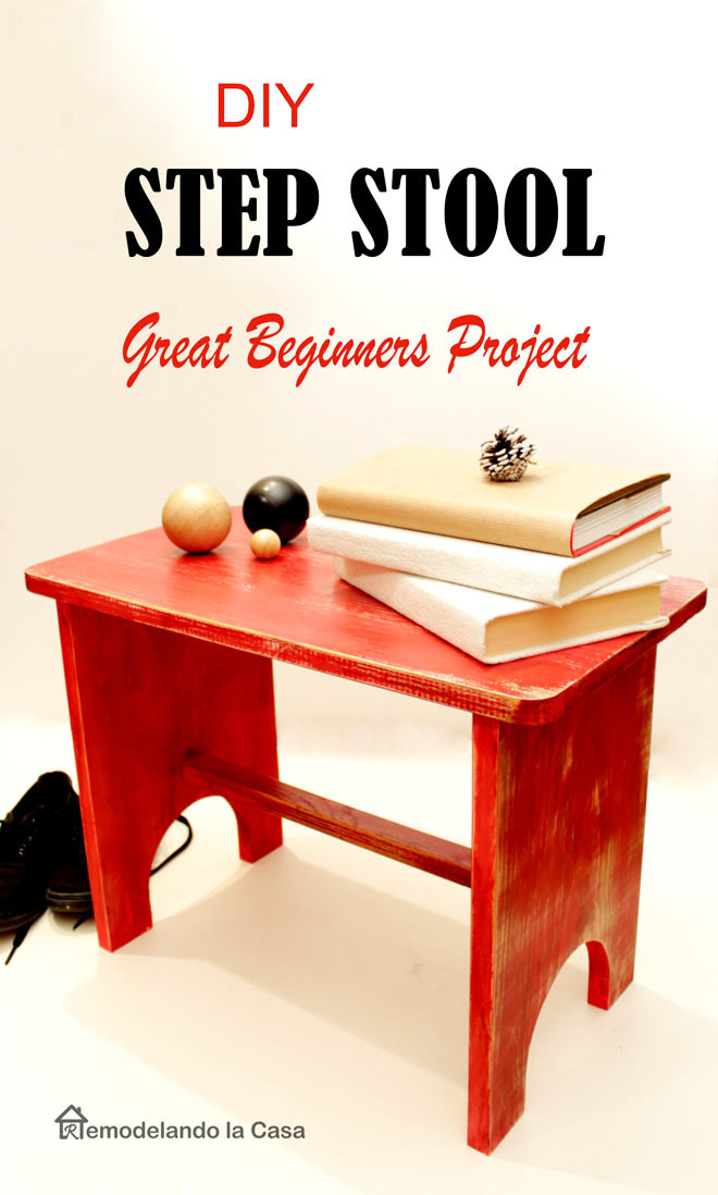 Beginner Woodworking Project Diy Step Stool