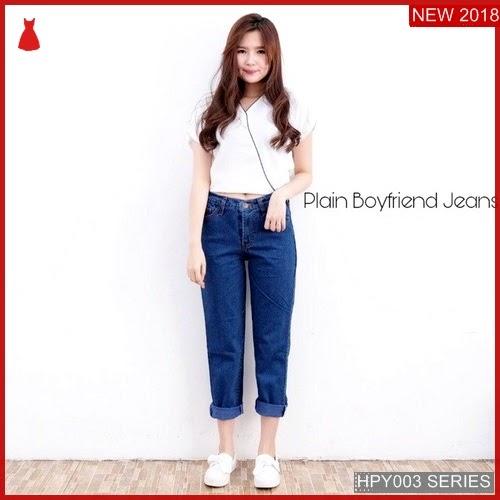 HPY003C83 Celana Boyfriend Anak Plain Murah BMGShop