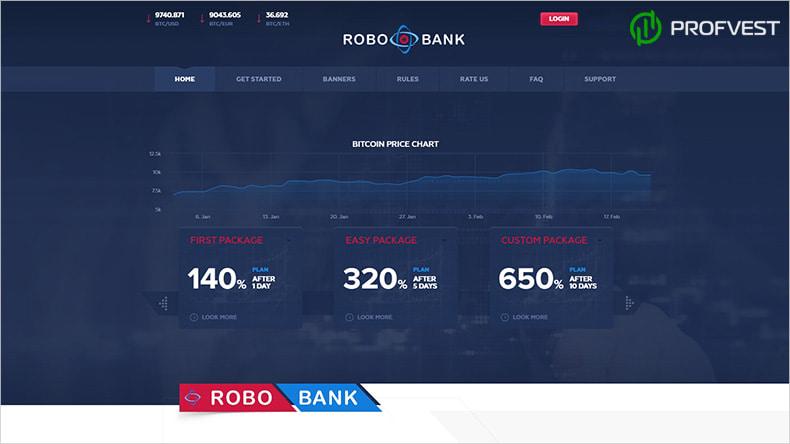 RoboBank обзор и отзывы HYIP-проекта