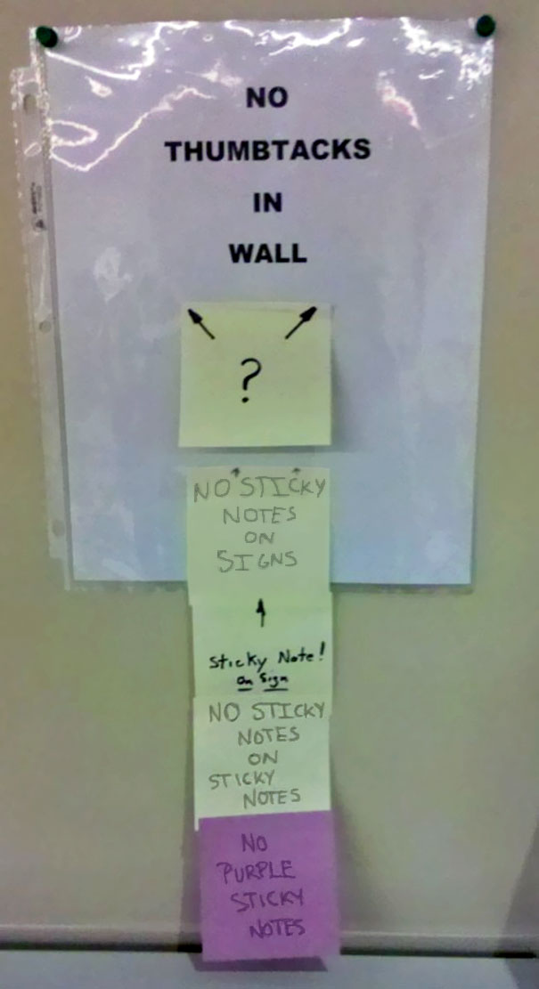 New Rules For Posting Notices In The Office