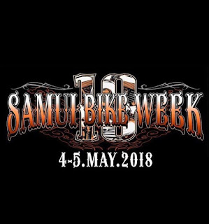 10th Samui Bike week, 4-5 May 2018