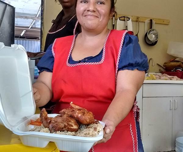 Semanario libertad pollo frito y arroz haitiano por 40 for Cocinar con 40 pesos