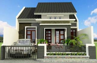 rumah sederhana tampak depan