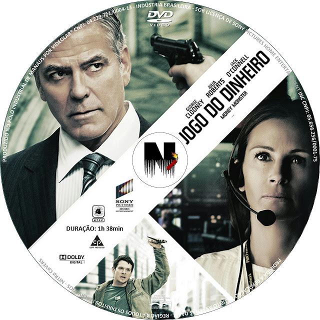 Label DVD Jogo Do Dinheiro