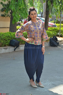 Actress Nikki Galrani at Trailer Launch of movie Team 5 Exclusive Pics ~