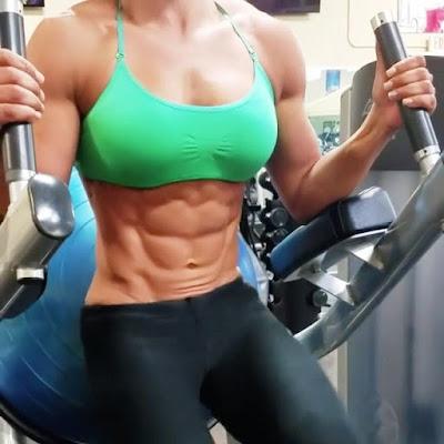 2.Ασκήσεις για απίστευτους κοιλιακούς από την Kessia Mirellys!!!