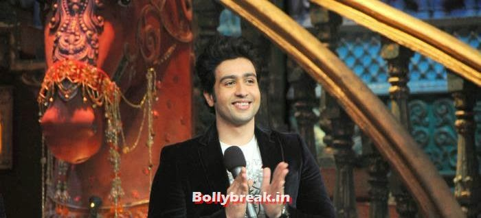 Adhyayan Suman, Ariana Ayam for 'Heartless' Promotion on Comedy Circus