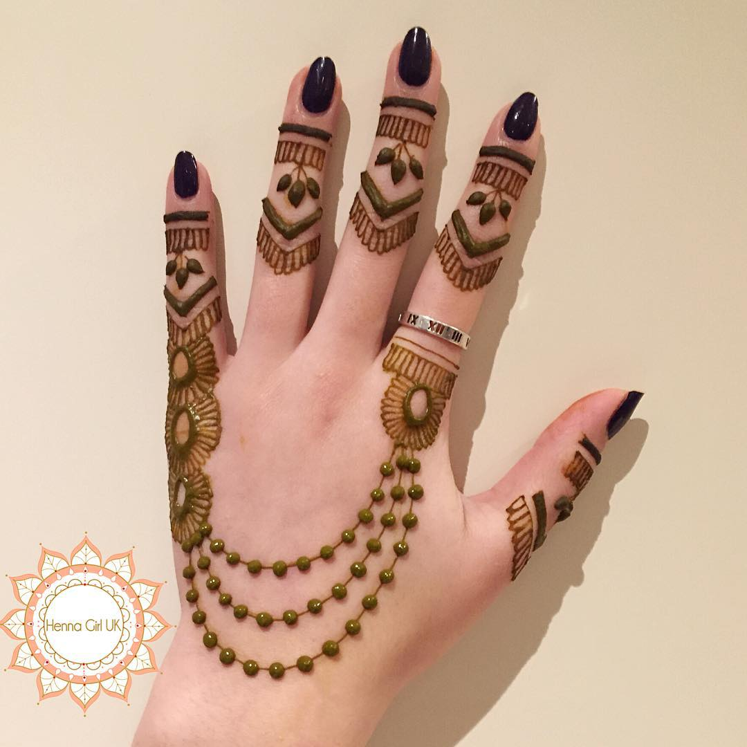 Easy Mehndi Patterns To Copy : New simple mehndi henna designs for hands buzzpk