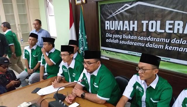 GP Ansor Sebut Pengibaran Bendera HTI di Hari Santri Sistematis dan Terencana