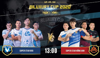 AoE Biluxury Cup | SuperStar Hồng Anh vs SuperStar Bibi | 4vs4 Random | 20/11/2020