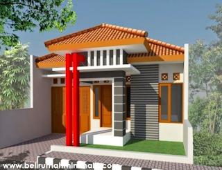 Contoh rumah minimalis sederhana type 21 1 lantai