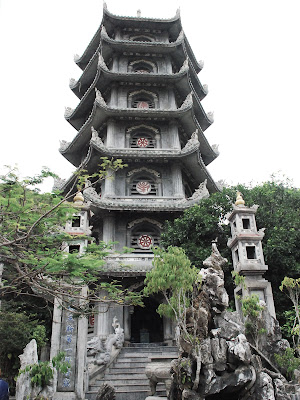 Xa Loi Tower in the Marble Mountains