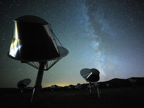ATA telescope - SETI