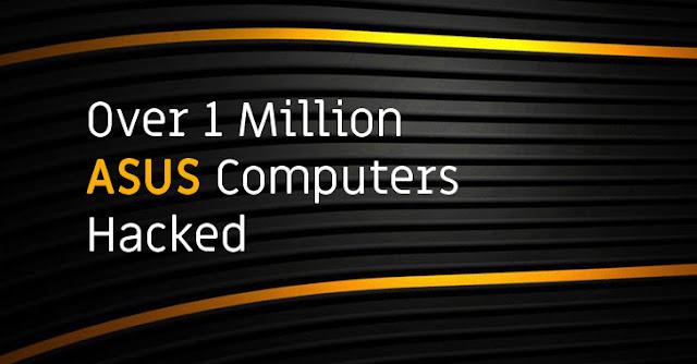 Serangan Hackers di Software Updates ASUS Terbaru