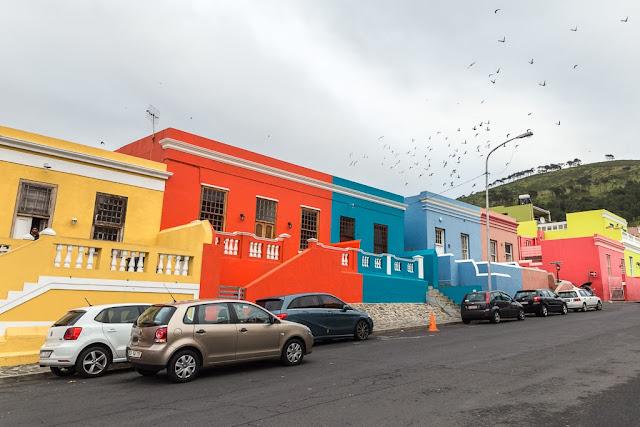Barrio Bo Kaap, Ciudad del Cabo, Sudáfrica