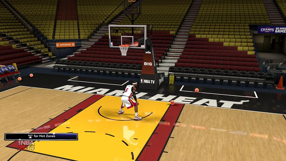 NBA 2K14 Glowing Ball Mod