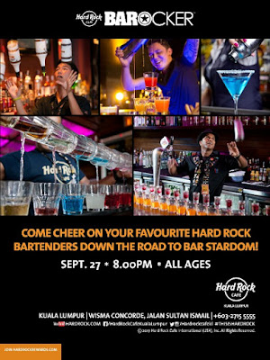 HARD ROCK SHAKES THINGS UP IN KUALA LUMPURWITH BAROCKER COMPETITION