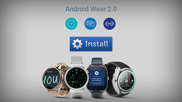 Android Wear v2.0 Update for All Android Smart Watches: Download From Here