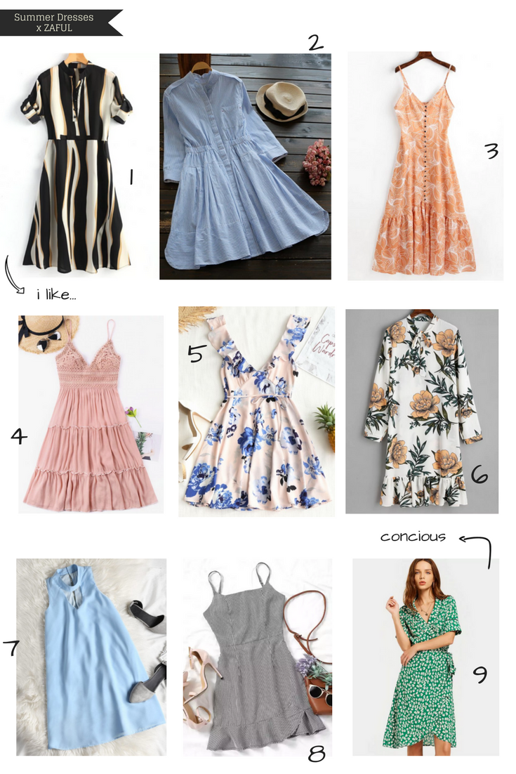Zaful Summer Dresses