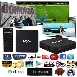 MX9 ANDROID TV BOX