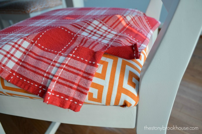Sewing Seat Covers From A Tablecloth