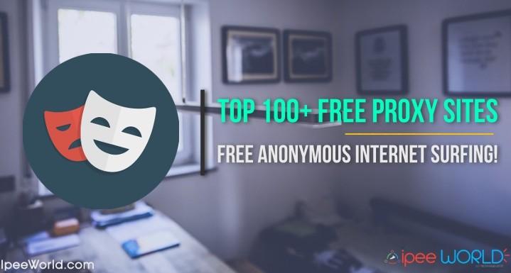 Top 100+ Free Proxy Sites