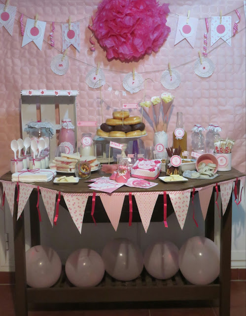 CANDY BAR O MESA DULCE PARA BABYSHOWER