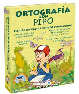 Juegos Educativos de Ortografía con Pipo, va dirigido a niños de 6 a 12 años;