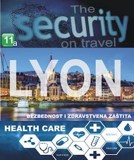 Lion, Francuska – Bezbednost i zdravstvena zaštita