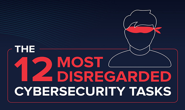 12 Most Disregarded Cybersecurity Tasks