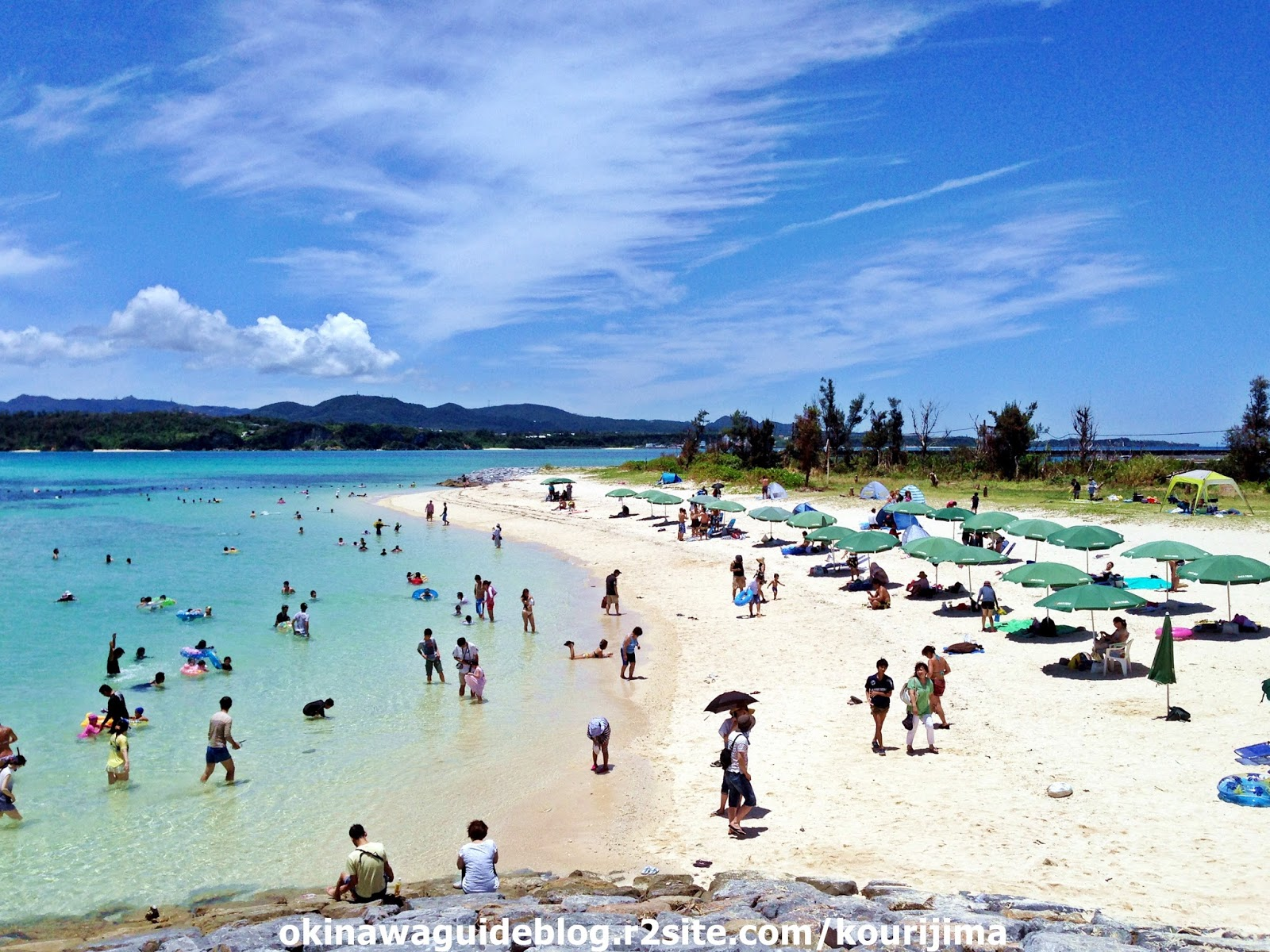 沖繩-海灘-推薦-古宇利海攤-Kouri-Beach-古宇利ビーチ-Okinawa-beach-recommendation