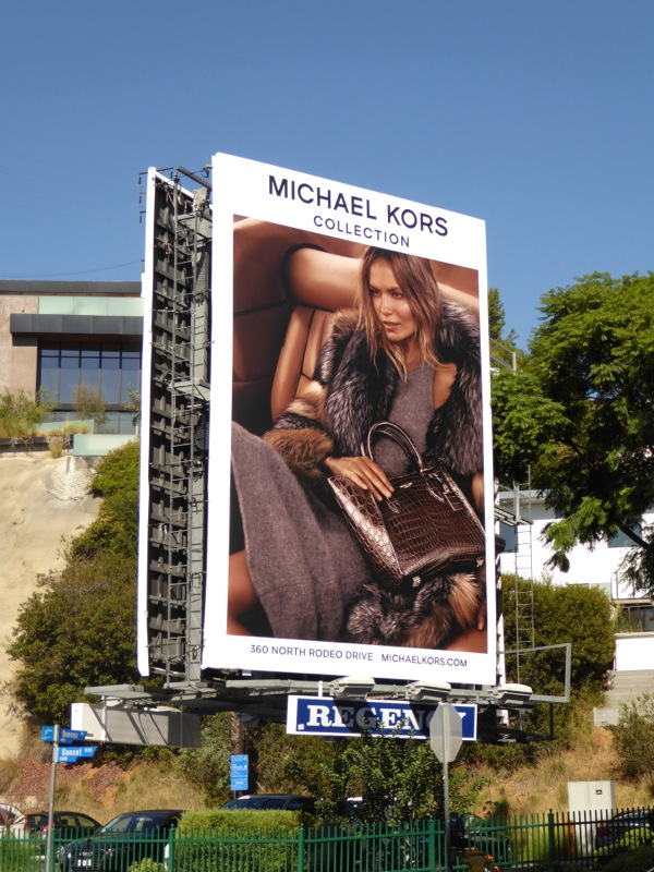 Michael Kors Collection FW15 billboard