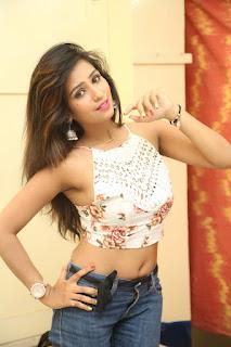 Deekshita Parvathi in a short crop top and Denim Jeans Spicy Pics Beautiful Actress Deekshita Parvathi January 2017 CelebxNext (152).JPG