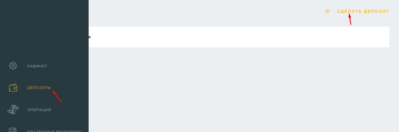 Регистрация в Trezer Bit 5